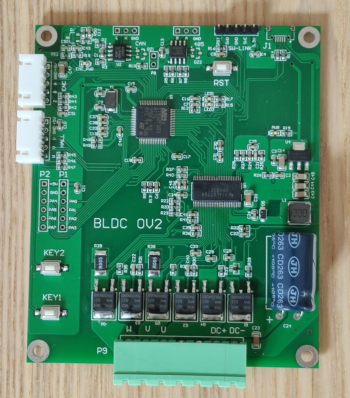 لوحة تطوير محرك سيرفو ، جهاز تشفير ، تحكم في ناقل الحركة ، DRV8301 ، PMSM ، STM32 ، BLDC