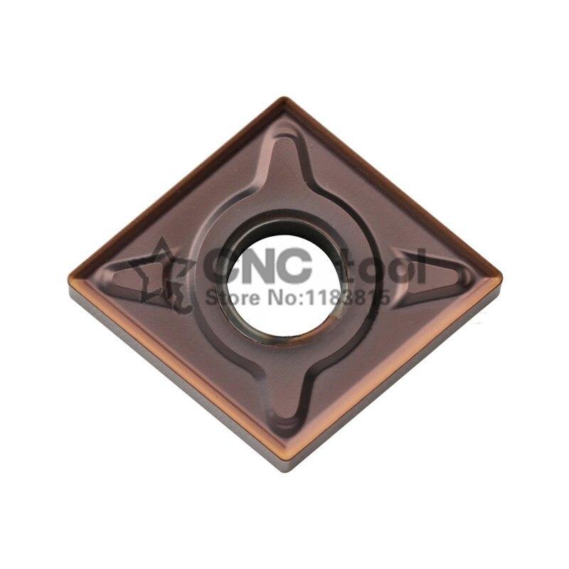 Original ZCC CNMG120404-EM CNMG120408-EM YBG205 CNMG 120404 de 120408 de carburo inserta herramienta de torneado torno herramientas de corte CNC