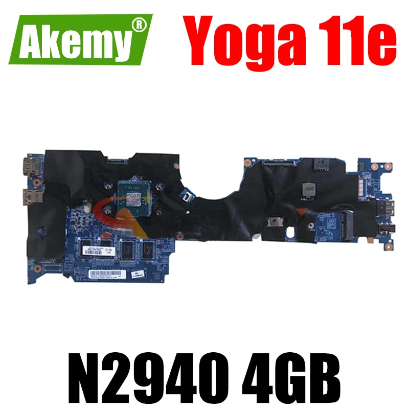 Thinkpad مناسبة لليوجا 11e N2940 4GB دفتر اللوحة الأم. FRU 00HT222 00HT221