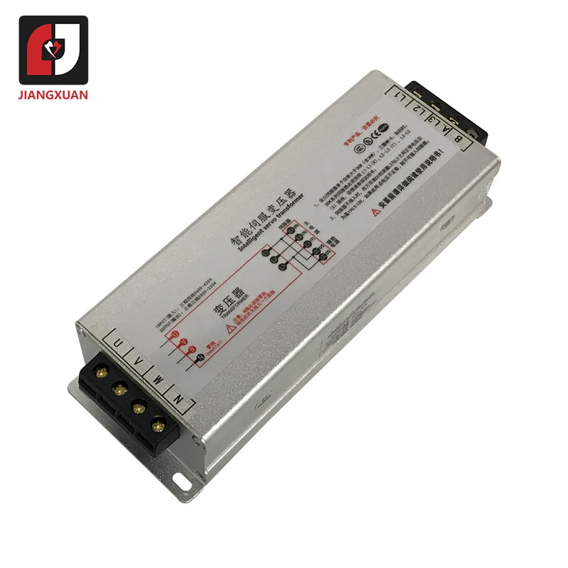 Transformador eléctrico inteligente de 2KW-80KW RST-5500/RST-7500 50/60HZ AC Servo Motor transformador