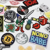 patches military clothes thermal stickers for fabric brooch patch patterned sewing accessories sewing repair leather clothing on