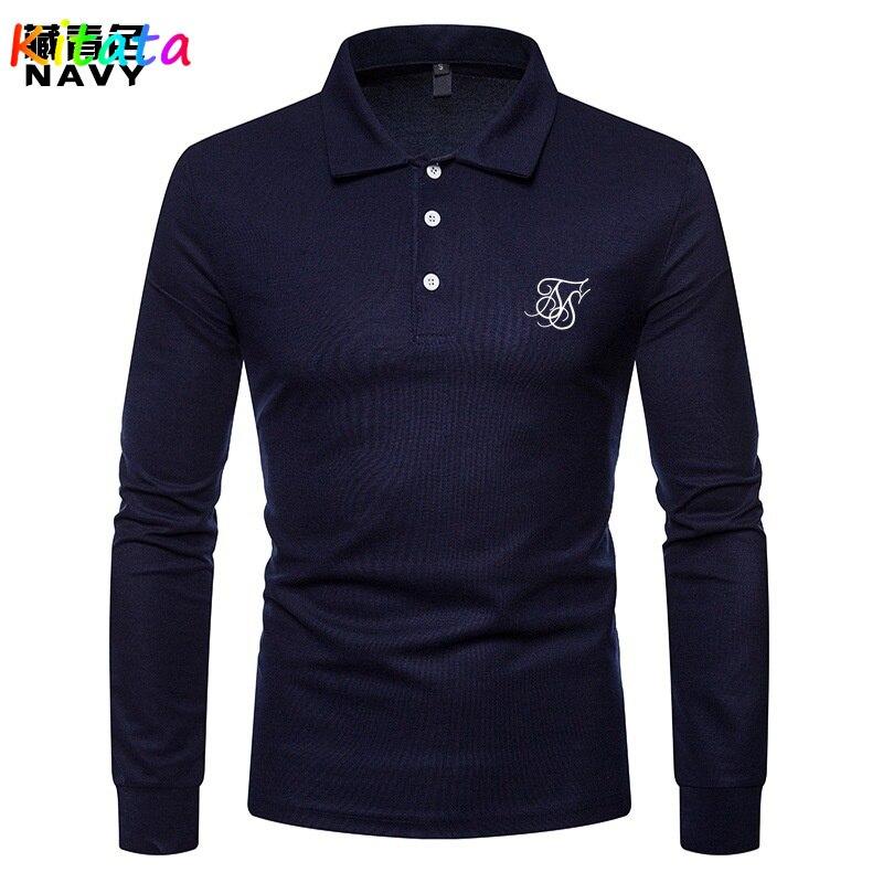 Новинка 2021, мужская повседневная футболка с длинными рукавами в стиле ретро, Высококачественная хлопковая длинная футболка, модный универс...