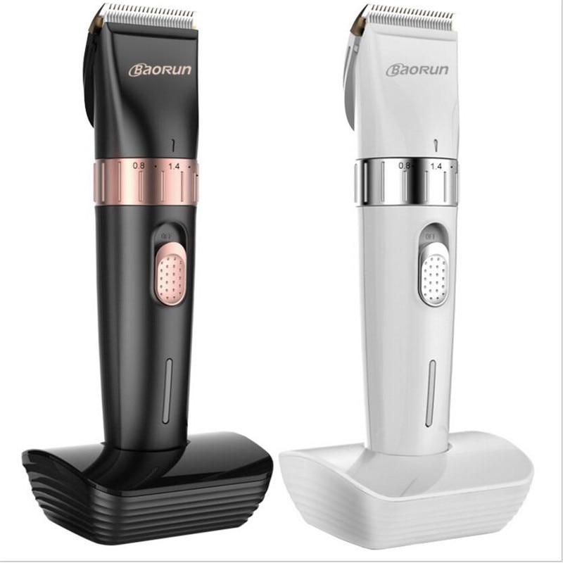 Profesjonalna precyzyjna elektryczna maszynka do strzyżenia włosów ostrze ceramiczne dla dorosłych głowica trymera maszynka do strzyżenia fryzjer Hairstyling Razor Cut