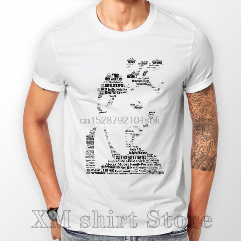 P!NK Tribute T Shirts  Hoodies Men Ladies Unisex Music Memorabilia Cool music tees FREEPOST Uk 100% cotton O-neck tshirts