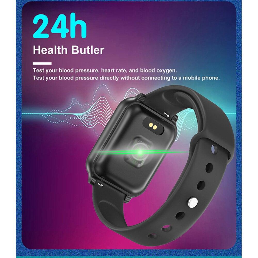 T70 SmartWatch Heart Rate Monitor Blood Pressure Sport Watch Fitness Tracker IP67 Waterproof Pedometer Activity Tracker Bracelet