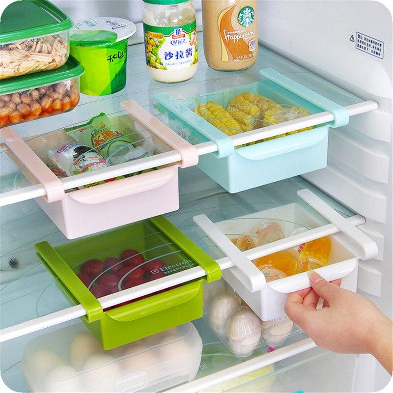 Cocina, granos de Caja de almacenamiento transparente, almacenamiento para fruta, preservación con organizador de Casa sellado, contenedor de alimentos Refrigerato