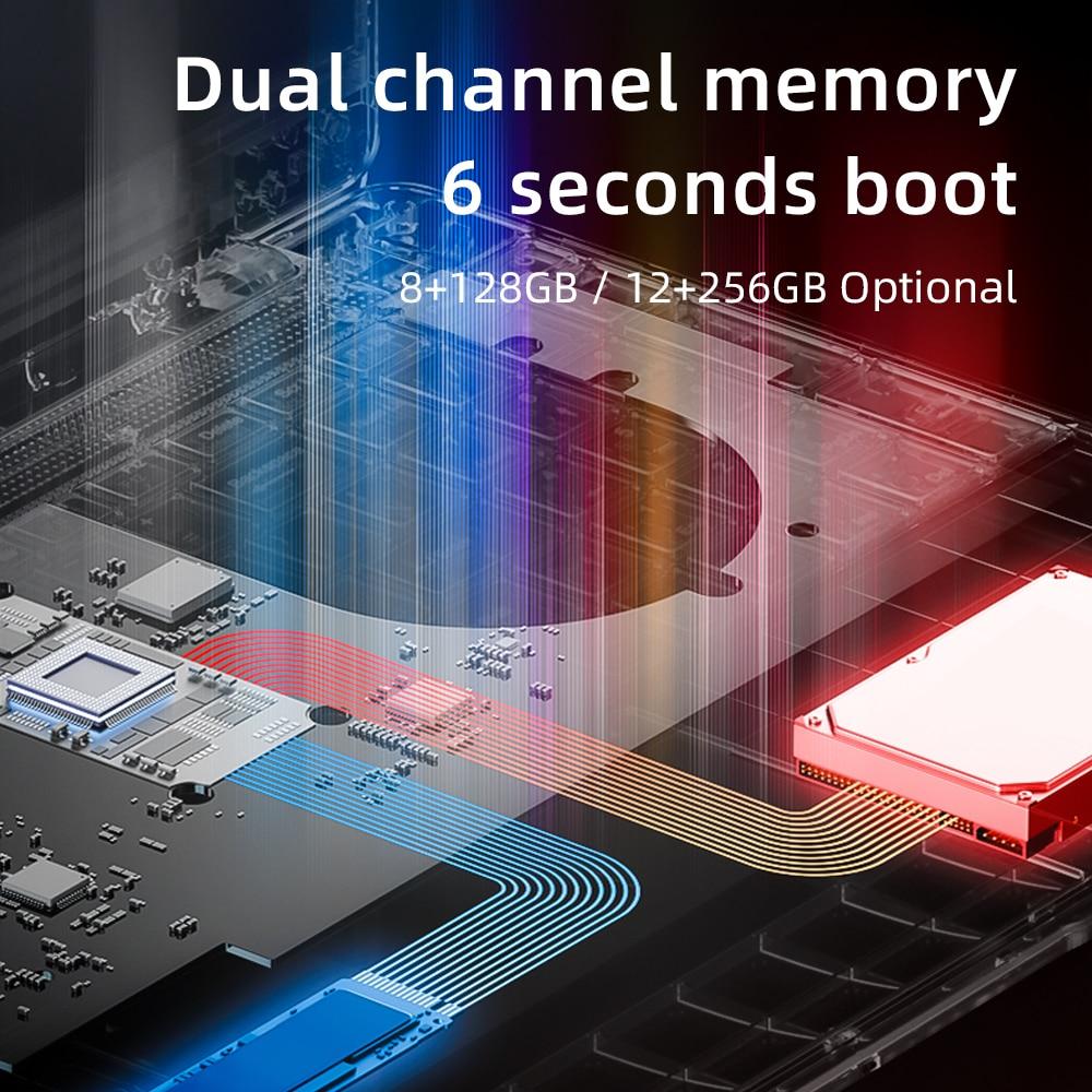 Dere R9 PRO 15.6 Inch Laptop 12GB RAM 256GB SSD Busines Notebooks Windows 10 Laptop Intel Celeron N5095 Computer PC Portable