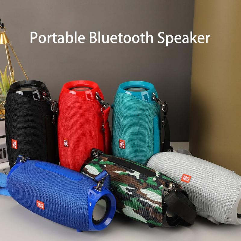 Altavoz Portátil con Bluetooth, Subwoofer de Bajo inalámbrico de 20w, columna impermeable,...