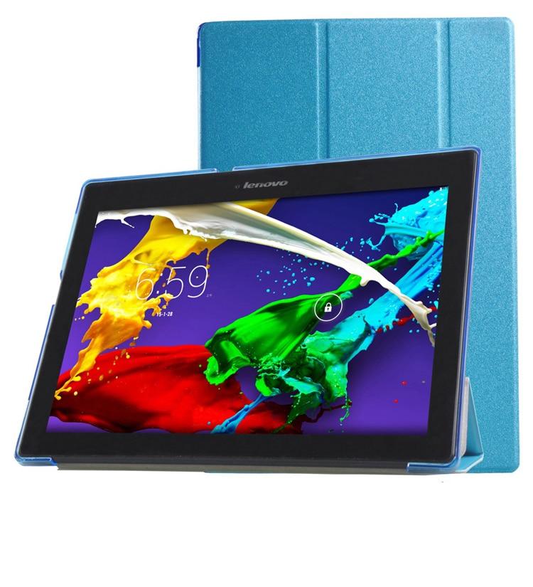 Кожаный чехол-подставка для Lenovo TAB3 TB3 10, деловой раскладной чехол для планшета, защитный чехол из ПУ кожи, защитный чехол + подарок чехол