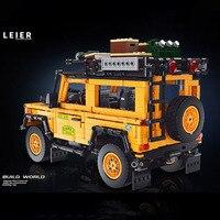 Крутейший Land Rover из лего на более чем 2500 тысячи деталей, собирается своими руками #3