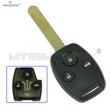 Clé télécommande à 3 boutons, 433.9mhz, HON66, remtekey, pour voiture Honda, OUCG8D-380H-A