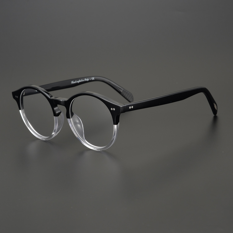 مكافحة الأشعة الزرقاء الكمبيوتر نظارات ov5241 نظارات ريترو مستديرة النظارات العلامة التجارية نظارات نسائية موضة الرجال النظارات البصرية الإط...