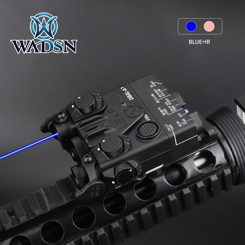 AliExpress - WADSN Airsoft Mini DBAL-A2 Green Blue Dot IR Laser Aiming Hunting DBAL-A2 Weapon Light PEQ Laser Sight Fit 20mm Picatinny