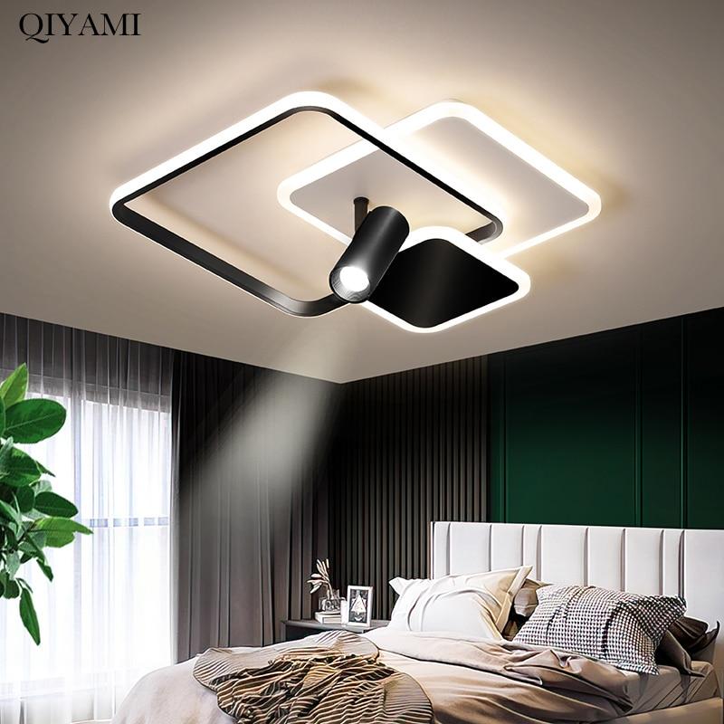 جديد LED الثريا أضواء لغرفة المعيشة دراسة ماستر نوم داخلي مصابيح الإبداعية مع الأضواء المنزل ديكو الإضاءة الإنارة