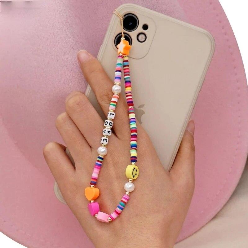 Новинка-2021-яркий-ремешок-для-телефона-в-богемном-стиле-с-улыбкой-и-жемчугом-Мягкая-Керамическая-веревочная-цепочка-чехол-для-телефона-по