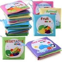 montessori book soft cloth books for newborns 0 12 months baby toys educational soft book baby toys montessori toys for children
