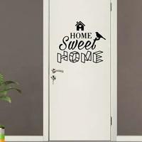 Autocollants muraux amovibles en Pvc  Style americain  pour la maison  pour les chambres denfants  decor de porte  decalcomanie dart mural