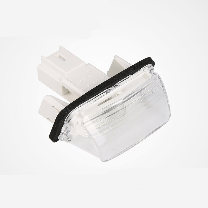 2 uds luces para placa de matrícula lámpara brillante blanco para Peugeot 206, 207, 306, 307, 406, 407 para Citroen C3 C4 Picasso