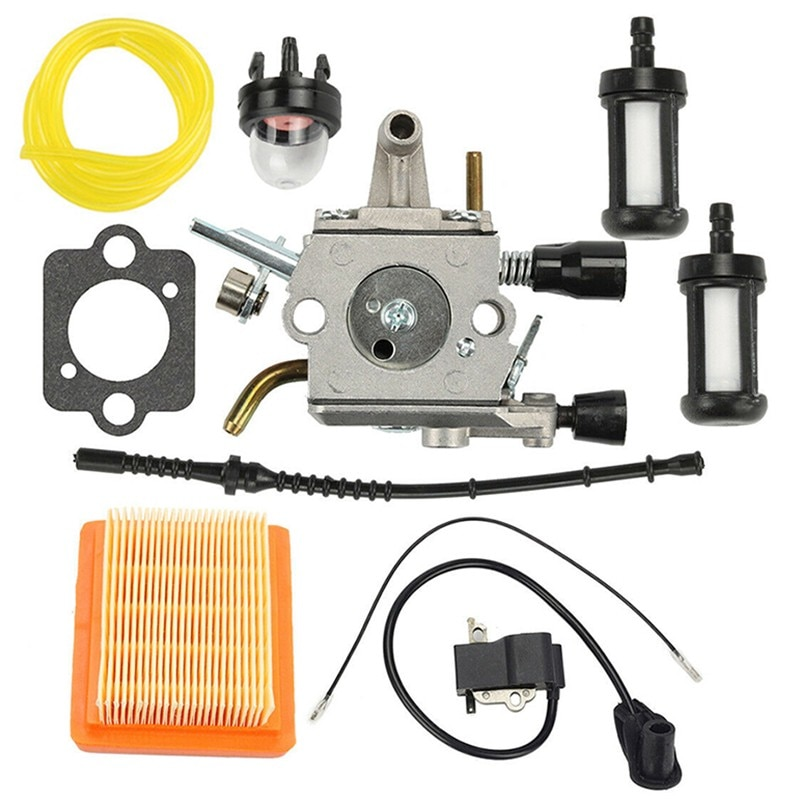 Carburetor Kit Replacement Accessories For Stihl FS120 FS200 FS250 FS250R FS300 FS350 Trimmer Brushcutter Replace Parts