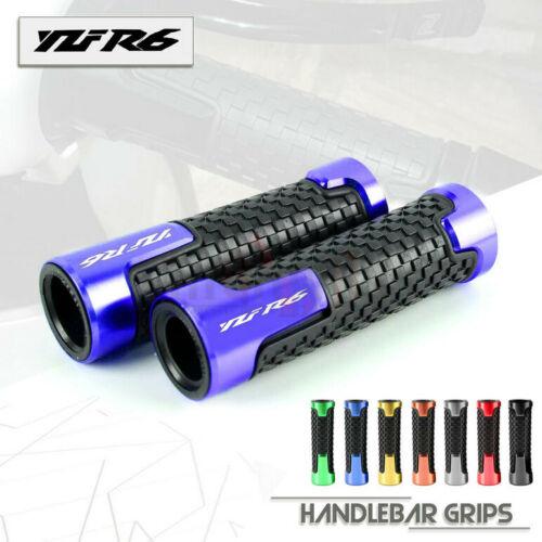 Универсальные алюминиевые и резиновые ручки для мотоциклов YAMAHA YZF R6 YZF-R6 R6S YZF600, 7/8 дюйма, 22 мм yzf600 yzf r6 97 02 motorbike motorcycle voltage rectifier regulator spare part for yamaha
