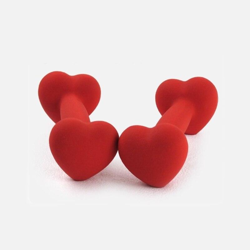 Mancuernas en forma de corazón para regalar a tu novia, mancuernas para gimnasio, para niña mancuernas, mujer, mancuernas para ejercicio en casa, 1kg, 2 unidades