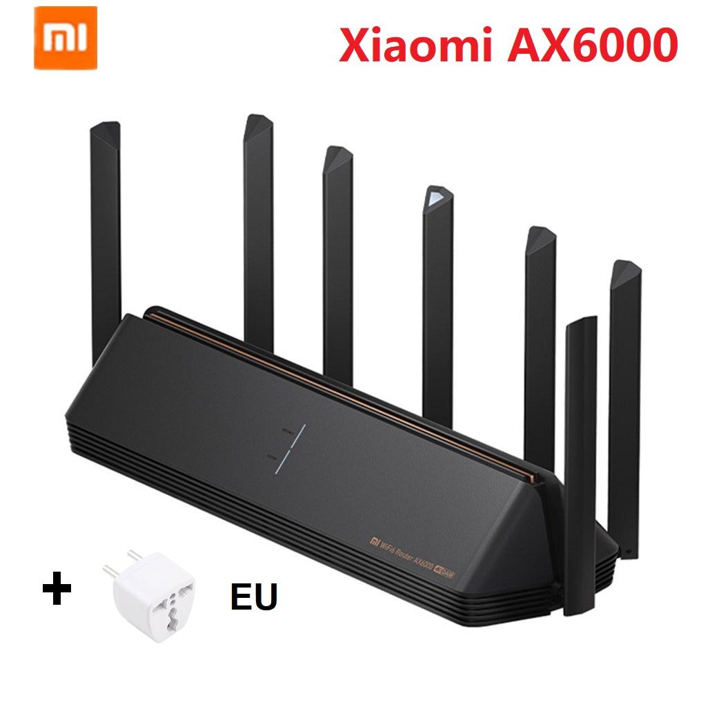 Xiaomi-AX6000 AIoT wi-fi 6 VPN 2021 ميجابايت ، 6000Mbs ، مكرر شبكة Qualcomm ، مضخم إشارة خارجي ، جديد لعام 512