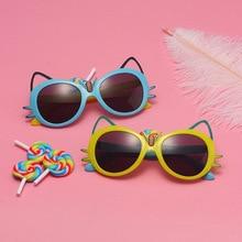 Children's Sunglasses Cute Anti-UV Glasses Baby Boys and Girls Fashion Trendy Cartoon Toy Glasses Fr