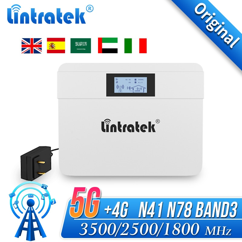 N78 مكبر صوت أحادي 3500 mhz مكرر 4G 5G Band3 N41 N42 2500 mhz TDD2500 TDD3500 إشارة الداعم ل اسبانيا السعودية