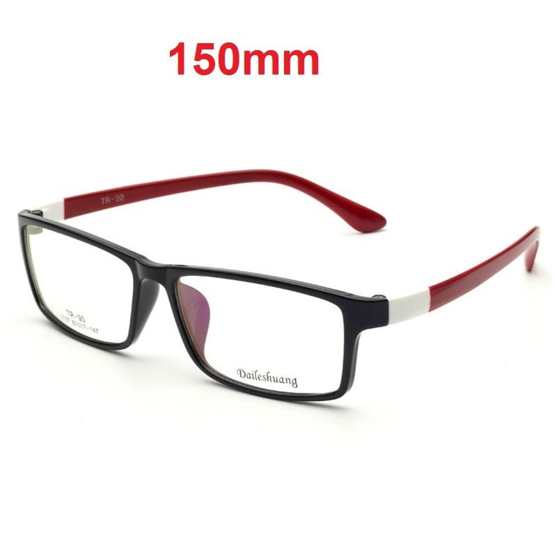 CUBOJUE 150mm Oversized Glasses Men Women Eyeglasses Prescription Spectacles TR90 Myopia Diopter Big