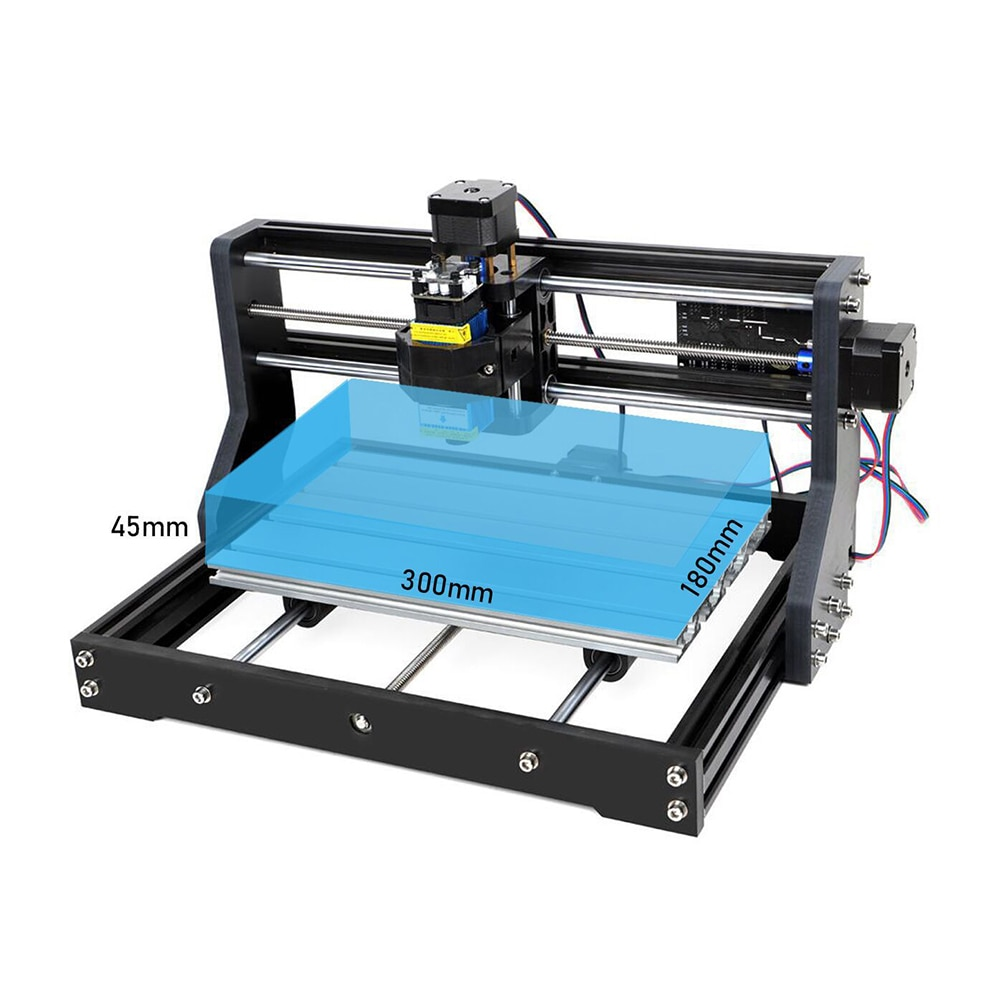 CNC pro Laser Engraver 15W Laser Cutting Machine DIY Wood Router,Leather,Metal,Acrylic For Engraving Machine Tools CNC Pro Max enlarge