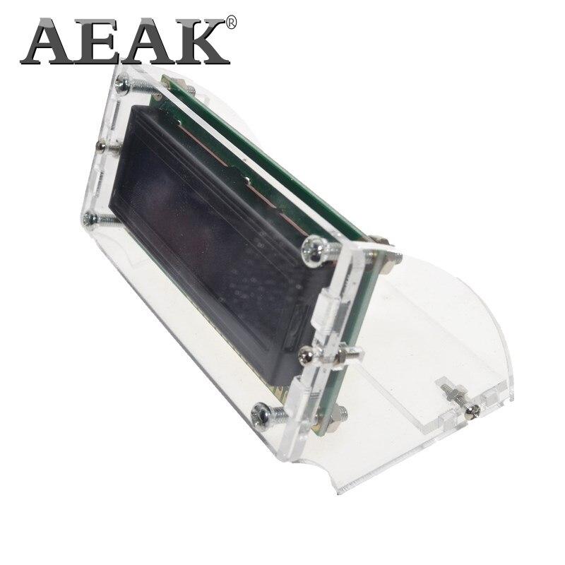 AEAK 1PCS LCD1602 1602 modul Blauen bildschirm 16x2 Zeichen LCD Display Modul HD44780 Controller blauen schwarzlicht