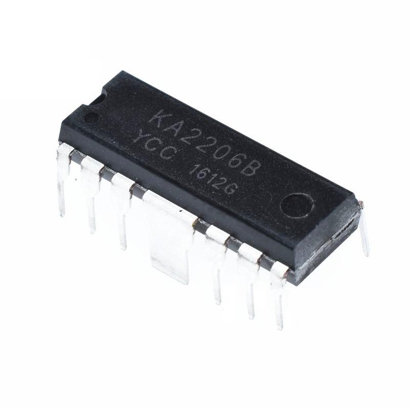 10 piezas KA2206 DIP12 KA2206B DIP nuevo y original IC
