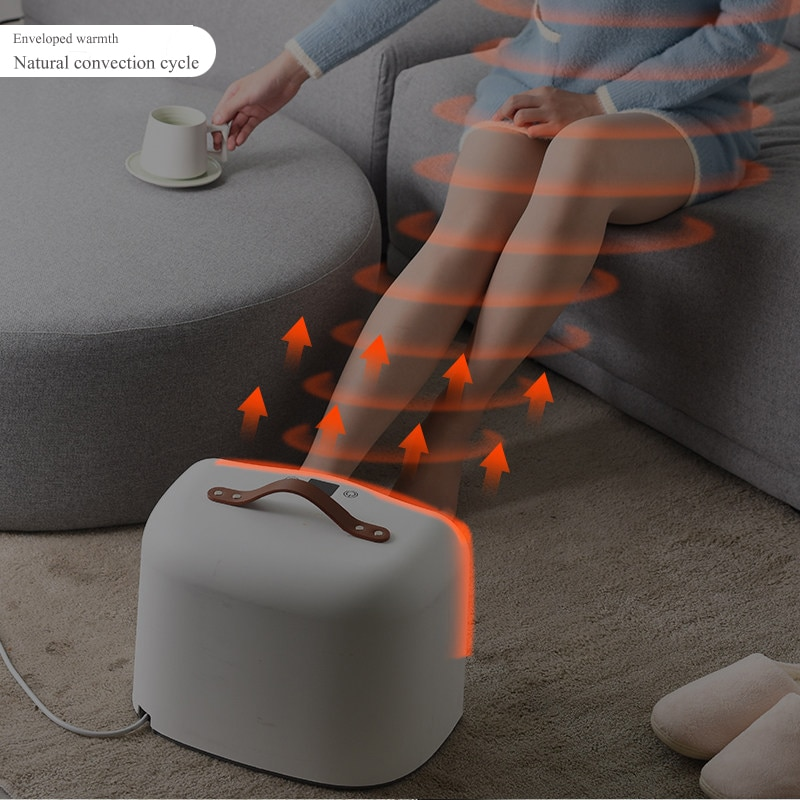 New Electric Warm Heated Foot Heating Pad Warmer Heat 4 level Heat Settings Warmer Cushion Thermal Foot Warmer Old man Gift enlarge