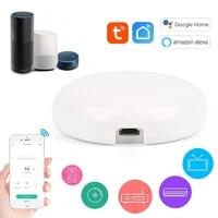 Telecommande sans fil intelligente wi-fi IR  Via lapplication Smart Life Tuya  fonctionne avec Alexa Google Home  Etc
