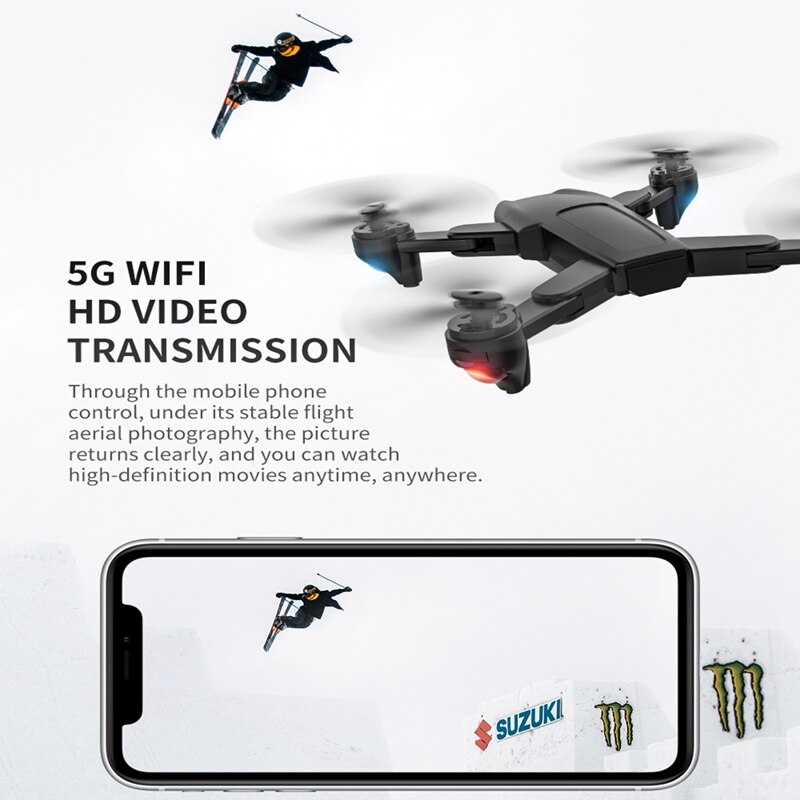 SG701/ SG701S GPS Drone With 4K Dual HD Camera Professional 5G WiFi FPV Dron Optical Flow Foldable RC Quadcopter Mini PK E520S enlarge
