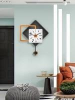 silent pendulum hanging wall clock modern design art wall clocks wall watch kitchen decor horloge living room decoration bi50wc