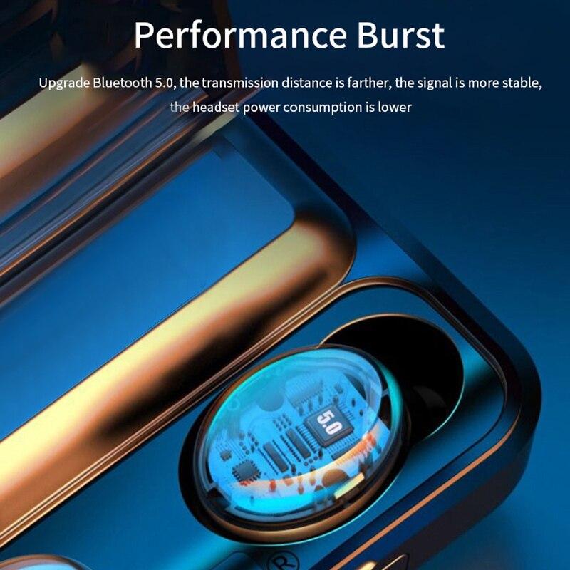 F9-32 TWS Bluetooth 5.0 Mini Wireless Earphones Earbuds Stereo Headphone With Microphone Waterproof Sports Headphones enlarge