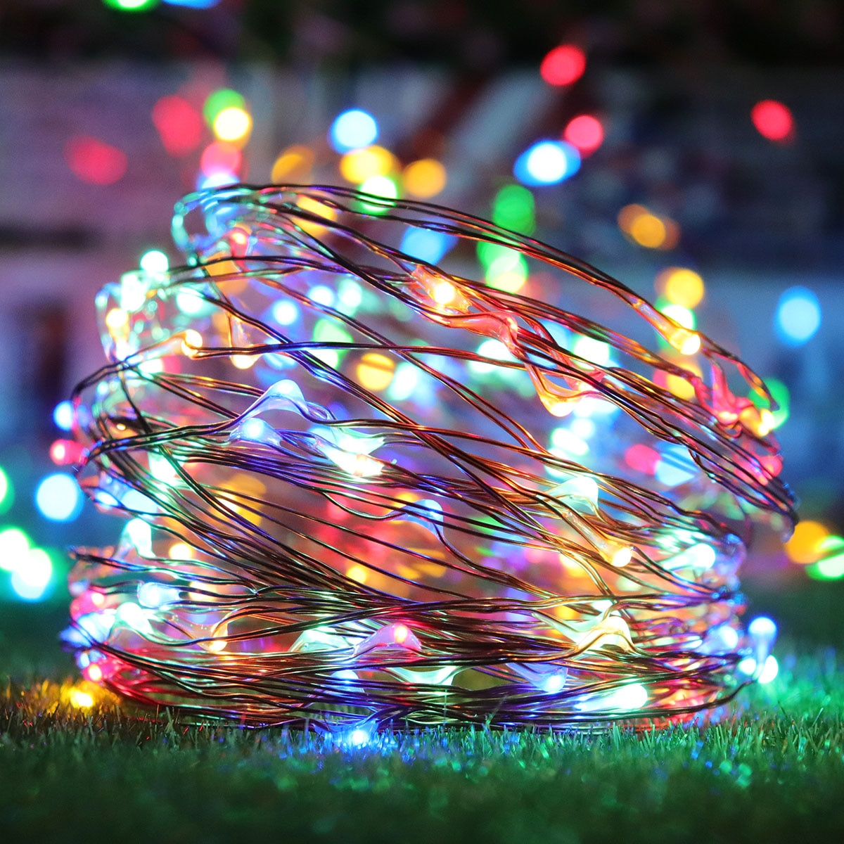 8 Modes Outdoor Solar String Lights 150LED Solar Lamps Waterproof Fairy Garland String Lights Christmas Party for Garden Street