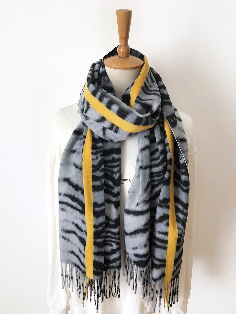 2019 bufandas para mujer estampado de leopardo gran oferta bufanda de Cachemira regalo para dama patrón de borla Pashmina Echarpe capa chales y envolturas