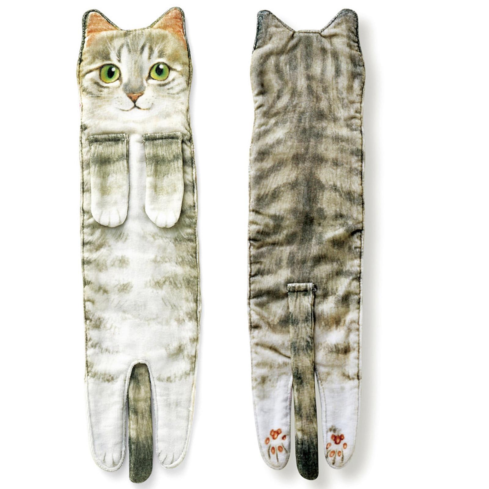 القطط منشفة من الألياف الدقيقة ماصة سوبر لطيف تنظيف منشفة للمنزل سريعة الجافة 15x52 سنتيمتر TB بيع