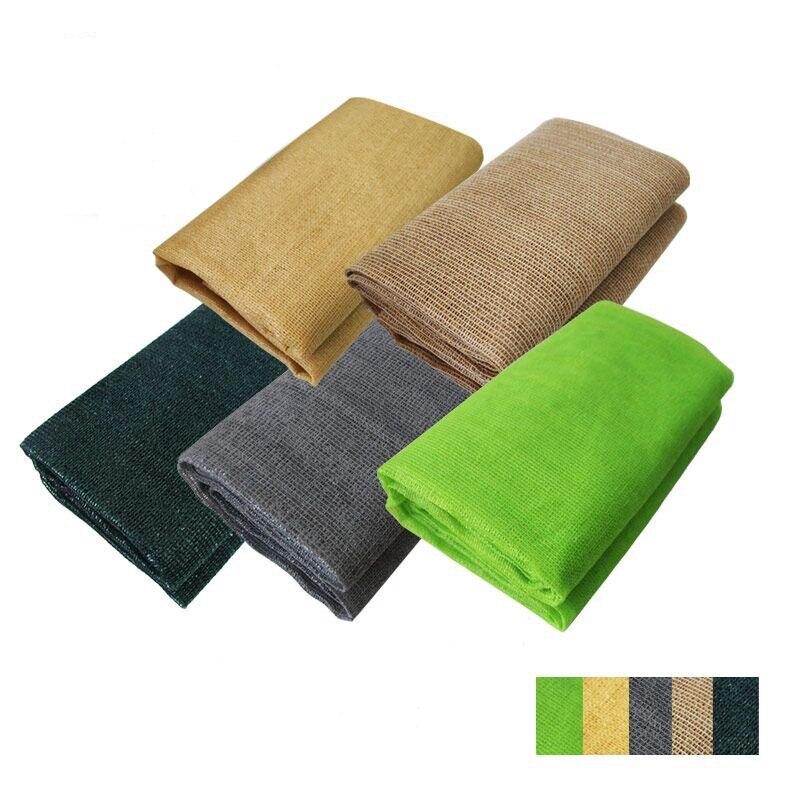 Five Color Choose Environmental Friendly Materials Sun Shade Net HDPE Anti UV Skin Plant Sunblock Awning Enough Unit Weight
