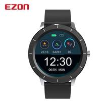 EZON L829 Smart Watch Heart Rate Monitor Sleep Tracking 1.3 Inch Touch Screen IP68 Digital Sport Wat