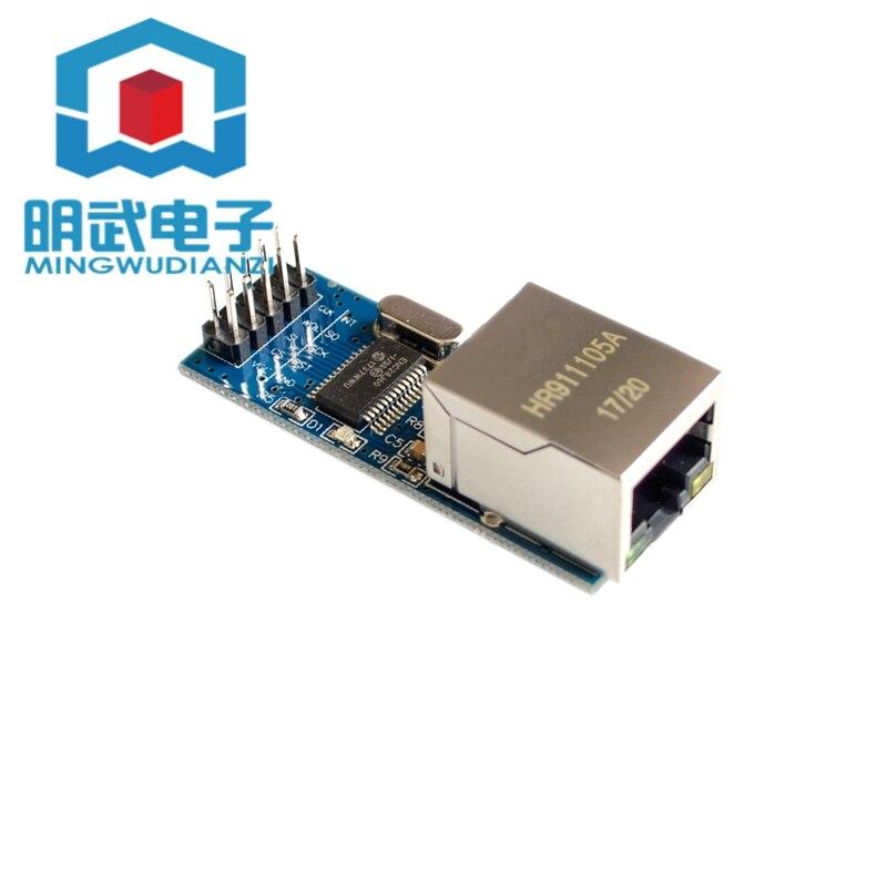 ENC28J60 interfaz spi Módulo de red Ethernet 51/AVR/ARM/foto código versión mini