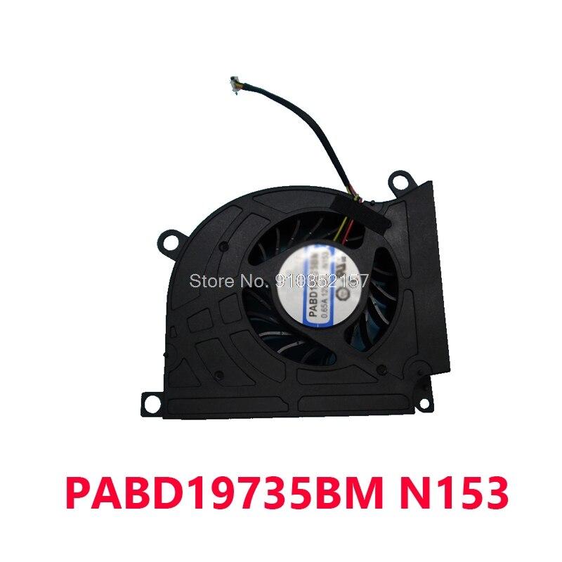 وحدة المعالجة المركزية مروحة ل MSI GT70H GT780 1762 GT60 GT70 0.65A 12VDC B9733L12B-028 16F1 MS-16F2 16F3 1761 GT663R GT680 GT683 GT783 GX660 GX680