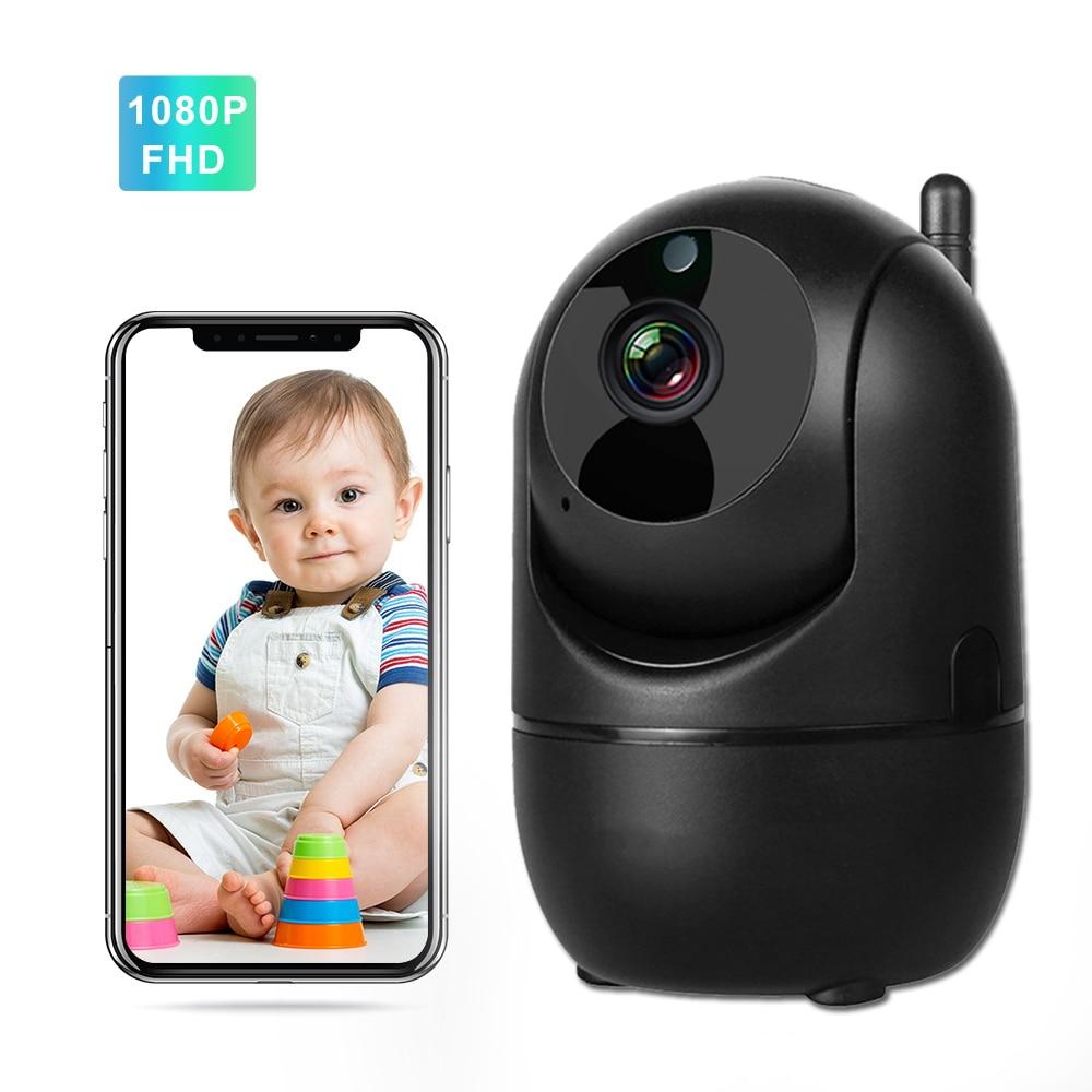1080P Baby Monitor WiFi IR Night Vision Two Way Audio Video Nanny Intercom Auto Track Wireless Wirel