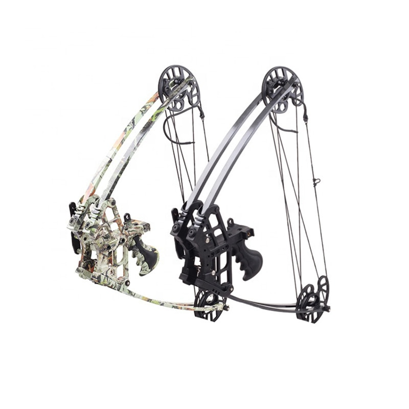 Archery Equipment Junxing M109 Fantasy Triangle Bow Car Mounted Fishing & Hunting Compound Sliding Wheel Bow & Arrows Bare Bow