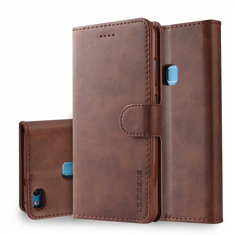 Huawei P10 Lite Case Flip Leather Magnetic Wallet For Phone On Cases P 10 Cover