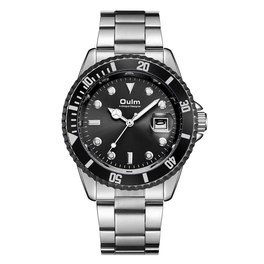 Relojes clásicos para hombre, reloj de cuarzo de marca de lujo, relojes de acero inoxidable para hombre, relojes impermeables de 30 M, hombre, reloj masculino