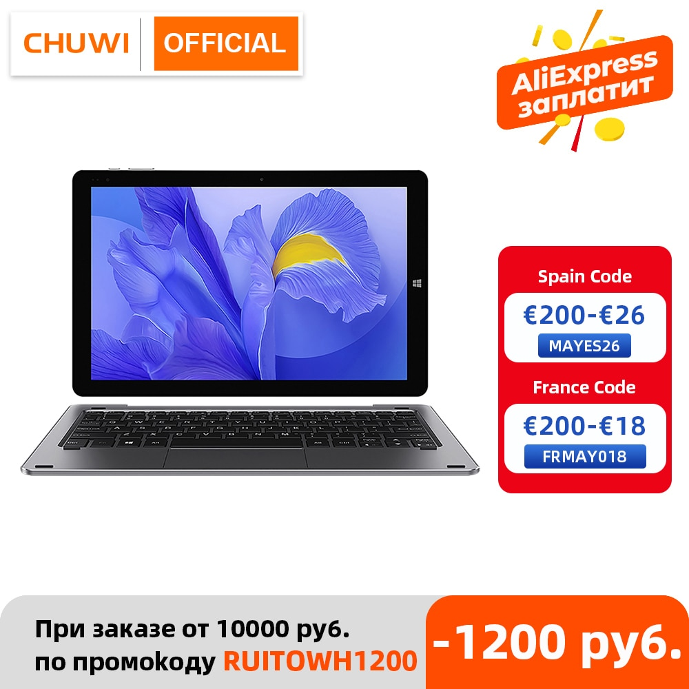 aliexpress.com - CHUWI Hi10 X 10.1 Inch FHD Screen Intel Celeron Quad Core 6GB RAM 128GB ROM Windows Tablets Dual Band 2.4G/5G Wifi