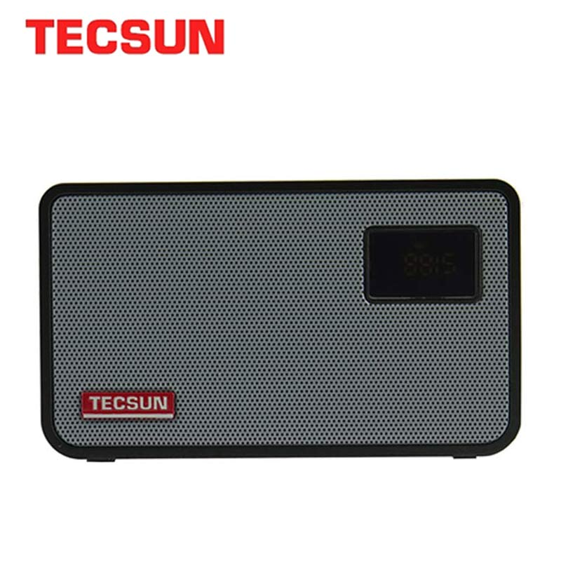 TECSUN ICR-100 TF Card Fm Radio Mini-loudspeaker Recorder MP3 Player Radio FM 76-108 With 16G Max Memory TF Card Fm Radio